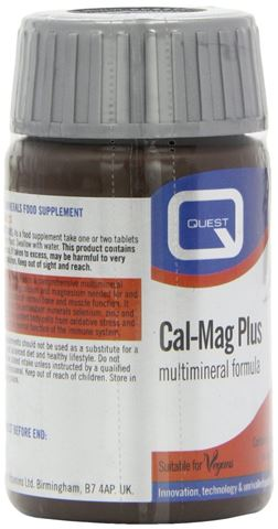 Quest Synergistic CAL-MAG 30 Ταμπλέτες