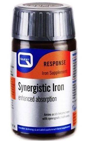 Quest Synergistic Iron 15mg 30 Ταμπλέτες