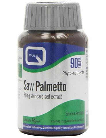 Quest Saw Palmetto 36 mg Extract 90 Ταμπλέτες