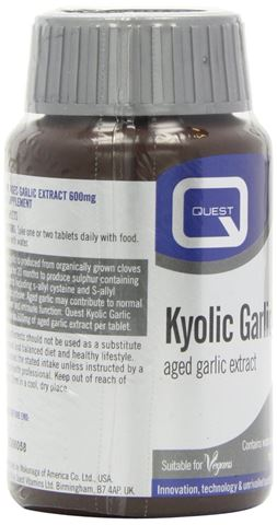 Quest Kyolic Garlic 600 mg Aged Garlic Extract 30 Ταμπλέτες
