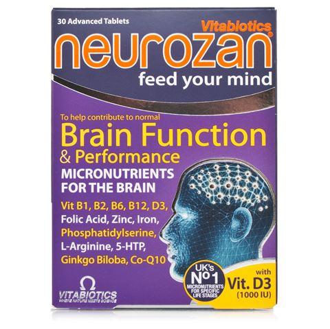 Vitabiotics Neurozan 30 Κάψουλες
