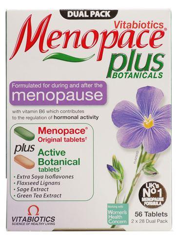 Vitabiotics Menopace Plus 28 & 28 Ταμπλέτες