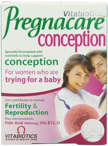 Vitabiotics Pregnacare Conception 30 Ταμπλέτες