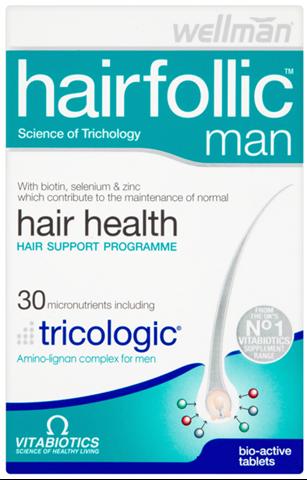 Vitabiotics Hair Follic Man 60 Ταμπλέτες