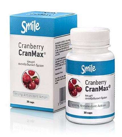 Smile Cranberry CranMax 30 Κάψουλες