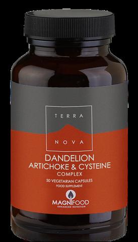 Terranova Dandelion- Artichoke & Cysteine Complex 50 Κάψουλες
