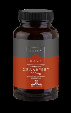 Terranova Cranberry 300mg 50 Κάψουλες