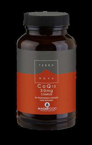 Terranova CoQ10 30 mg Complex 50 Κάψουλες