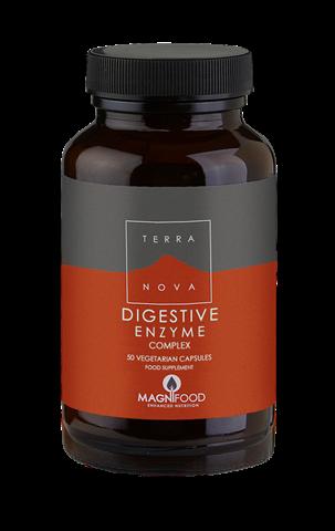 Terranova Digestive Enzyme Complex 50 Κάψουλες