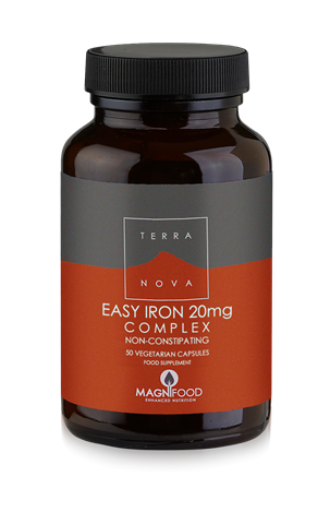 Terranova Easy Iron 20mg Complex 50 Κάψουλες
