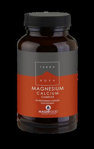 Terranova Magnesium Calcium Complex 50 Κάψουλες