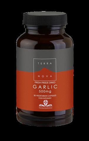 Terranova Garlic 500mg 50 Κάψουλες