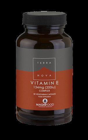 Terranova Vitamin E Complex 200iu (134mg) 50 Κάψουλες