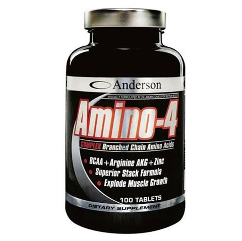 Anderson Amino-4 100 Ταμπλέτες