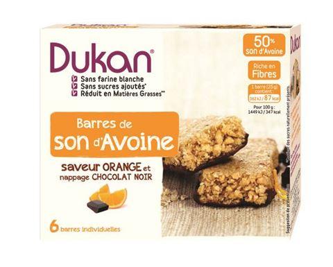 Dukan Μπάρες Βρώμης με Σοκολάτα & Πορτοκάλι 150gr