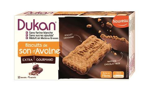 Dukan Μπισκότα Βρώμης με Επικάλυψη Σοκολάτας 200gr