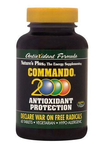 Nature's Plus Commando 2000, 60 ταμπλέτες