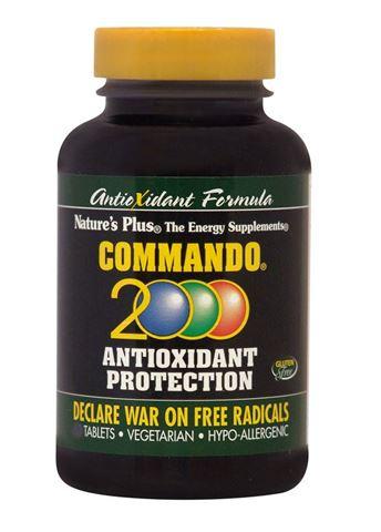 Nature's Plus Commando 2000, 90 Ταμπλέτες