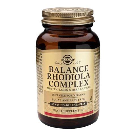 Solgar Balance Rhodiola Complex 60 Φυτικές Κάψουλες
