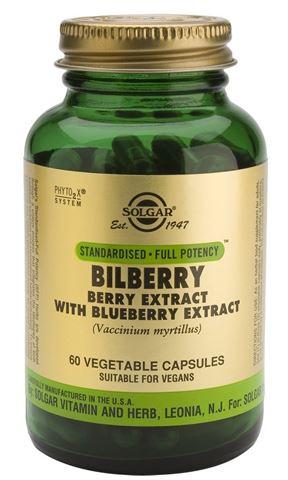 Solgar Bilberry Berry Extract 60 Φυτικές Κάψουλες