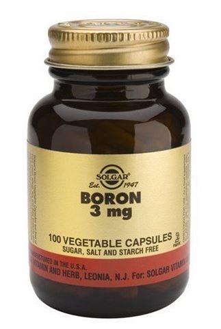 Solgar Boron 3mg 100 Φυτικές Κάψουλες