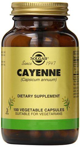 Solgar Cayenne 520mg, 100 Φυτικές Κάψουλες