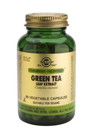 Solgar Green Tee Leaf Extract 60 Φυτικές Κάψουλες