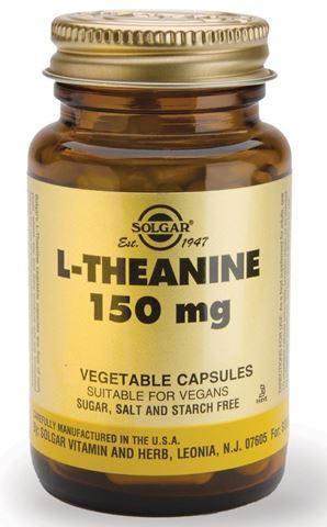 Solgar L-Theanine 150mg, 60 Φυτικές Κάψουλες