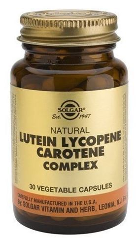 Solgar Lutein Lycopene Carotene Complex 30 Φυτικές Κάψουλες