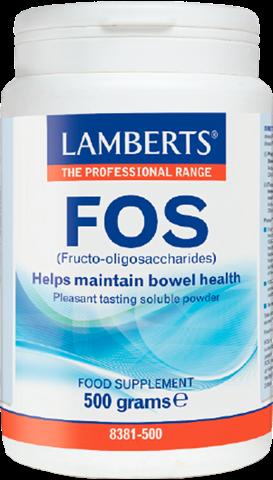Lamberts FOS (Fructo-oligosaccharides), 500g