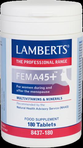 Lamberts Fema 45+, 180 Ταμπλέτες