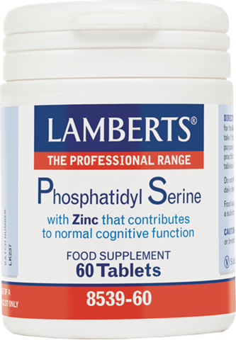 Lamberts Phosphatidyl Serine 100mg, 60 Ταμπλέτες