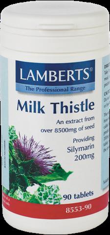 Lamberts Milk Thistle 8500mg, 90 Ταμπλέτες