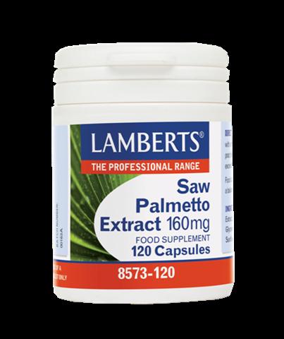 Lamberts Saw Palmetto Extract 160mg, 120 Κάψουλες