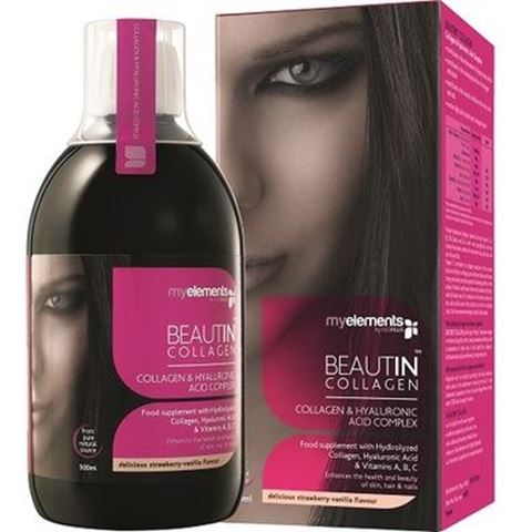 My Elements Beautin Collagen Strawberry/Vanilla 500ml