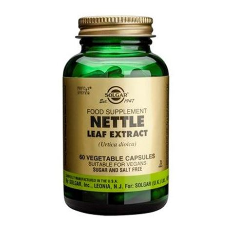 Solgar Nettle Leaf Extract 60 Φυτικές Κάψουλες