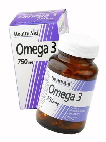 Health Aid Omega-3, 60 Κάψουλες