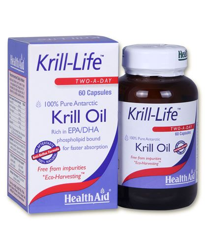 Health Aid Krill-Life 500mg, 60 Κάψουλες