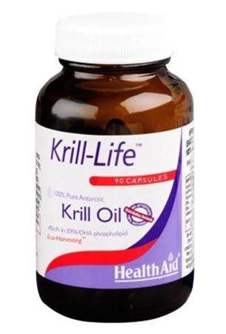 Health Aid Krill-Life 500mg, 90 Κάψουλες