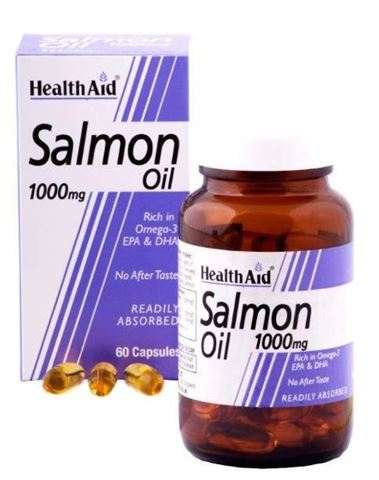 Health Aid Salmon Oil 60 Κάψουλες