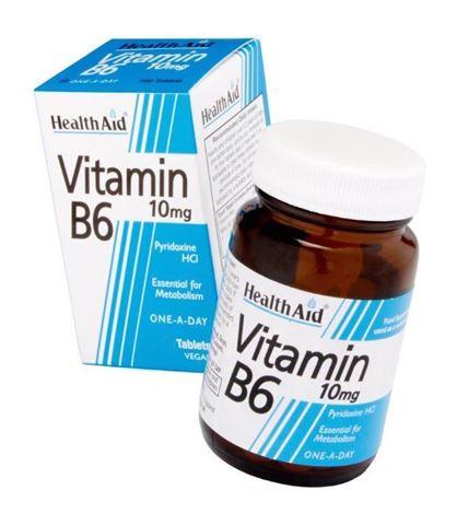 Health Aid Βιταμίνη B6, 90 Ταμπλέτες