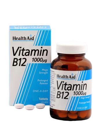 Health Aid Βιταμίνη B12, 50 Ταμπλέτες