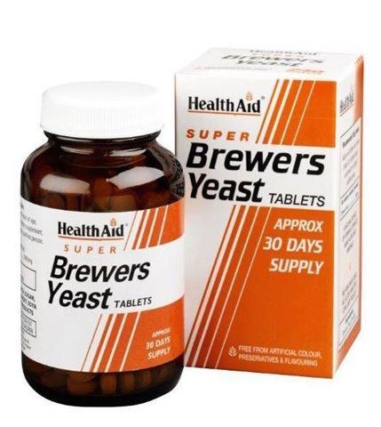 Health Aid Μαγιά Μπύρας 300mg, 500 Ταμπλέτες