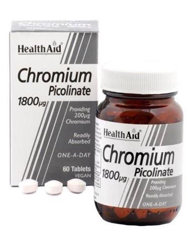 Health Aid Chromium Picolinate 60 Ταμπλέτες