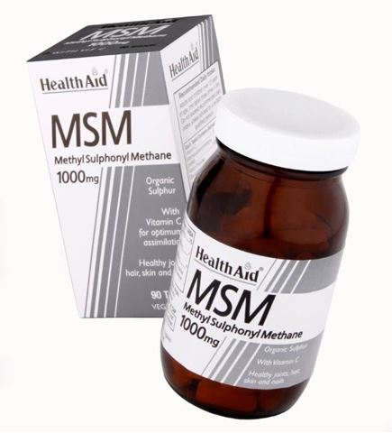 Health Aid MSM with Vitamin C, 90 Ταμπλέτες