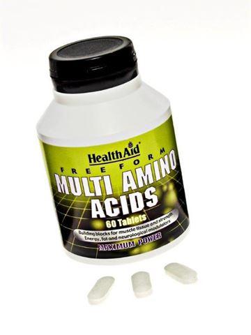 Health Aid Μulti Amino Acids 60 Ταμπλέτες