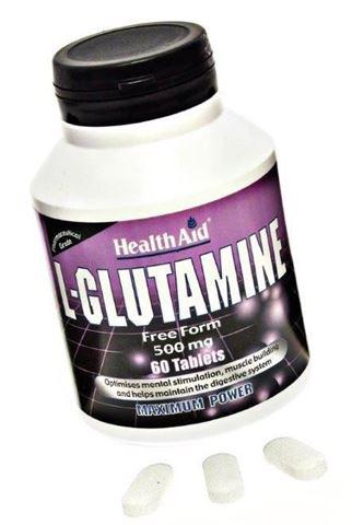 Health Aid L-Glutamine 60 Ταμπλέτες