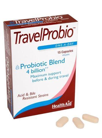 Health Aid Travel Probio 15 Κάψουλες