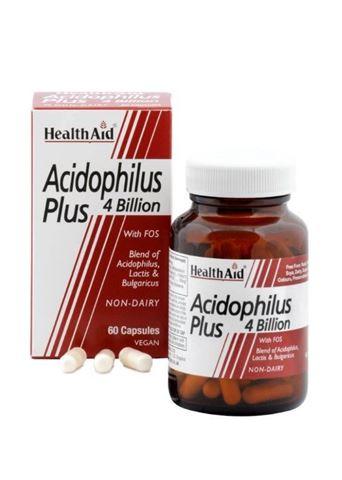 Health Aid Acidophilus Plus 4 bilion 60 Κάψουλες