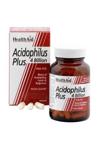 Health Aid Acidophilus Plus 4 bilion 30 Κάψουλες